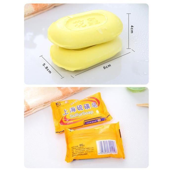 Eczéma de savon de soufre Stop Itching acné Cure peu coûteuse Anti Dermatite de champignon@zsy44