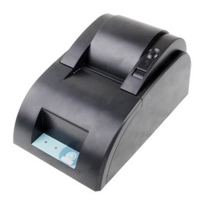 Imprimante thermique 58mm Port Parallèle T58zp Noir