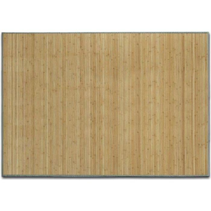 Tapis en Bambou Naturel - 150x200 cm Nature - Tapis Naturel Cuisine, Salle de bain, Chambre