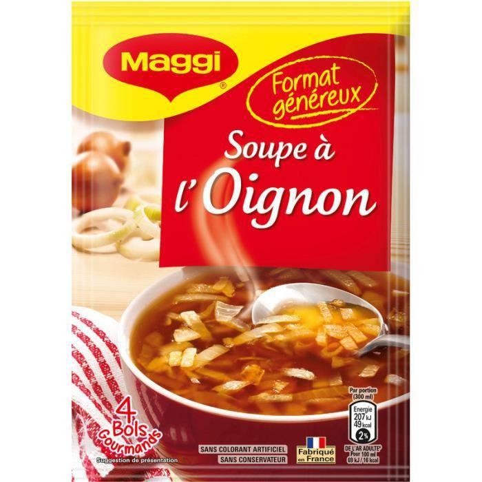 Maggi Soupe déshydratée à l'oignon 61g
