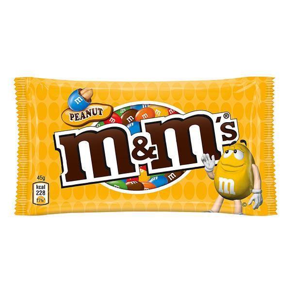 Mars M&M's Peanut arachide 24 x 45g