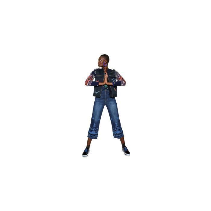 Desigual Veste Femme Yucon Bleu Foncé 18WWEW72 - Taille - 36