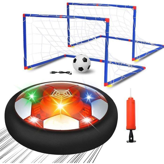 Air Power Football Enfants Hover Soccer Ball avec Coloré Lumière LED, pour Garçons Filles Jeux Intérieur Extérieur Sport