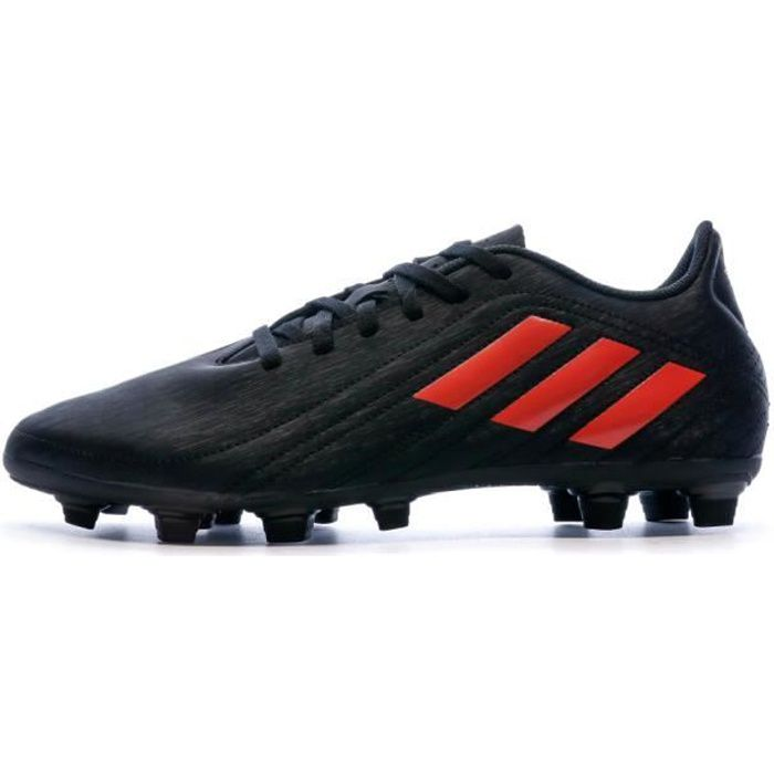 Chaussures de Football Noires Homme Adidas Deportivo FXG