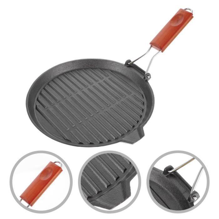 Poignée en bois Panoramique de frire table de cuisson vitroceramique - plaque de cuisson vitroceramique gros appareil de cuisson
