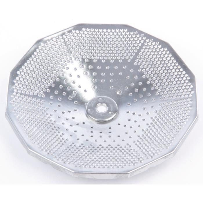 Disque en acier inoxydable (1,5 mm) pour Moulin