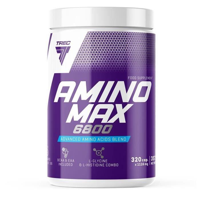 Aminomax 6800 (320 caps) Trec Nutrition