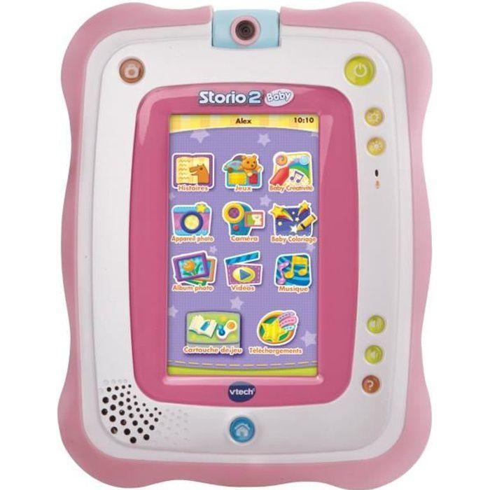 VTECH BABY Tablette Storio 2 Baby Rose