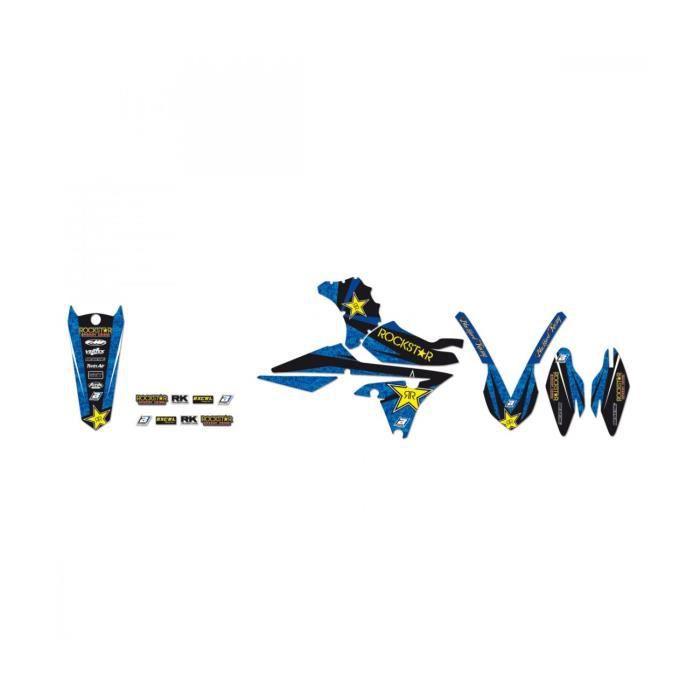YAMAHA YZF 250 / YZF 450 -06/09 - KIT DÉCO BLACKBIRD ROCKSTAR ENERGY 2228L