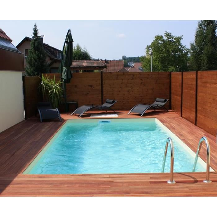 Piscine rectangulaire 3 5 x 7 m fond plat m achat for Piscine 8x3 5