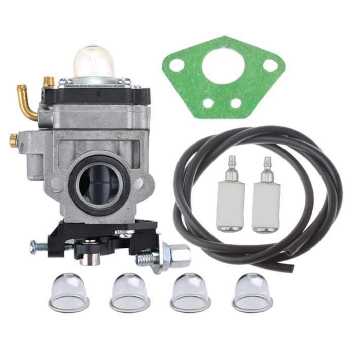 Carburateur /& Joint Kit pour Débroussailleuse Multifonctions 5en1 52cc 49cc 43cc