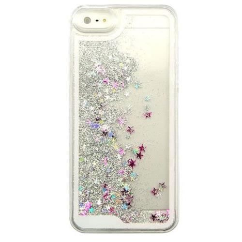 coque iphone 5 s paillettes liquides