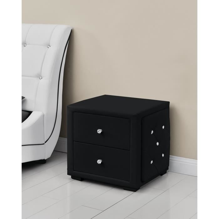 chevet capitonne achat vente chevet capitonne pas cher. Black Bedroom Furniture Sets. Home Design Ideas