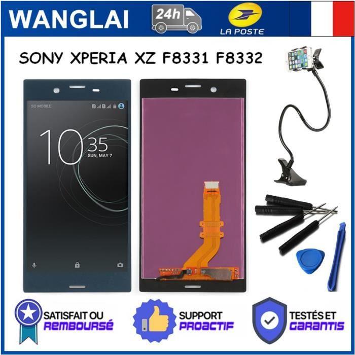 Ecran Complet LCD Noir avec Chassis Frame Pour Sony XZ F8332 et Outils