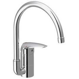 Mitigeur d 39 evier haut eurodisc grohe achat vente for Grohe evier cuisine