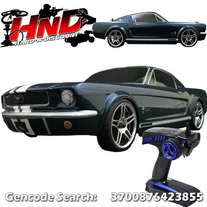 voiture thermique de course rc ford mustang 1966 onroad 2 4ghz 1 10 rtr prix pas. Black Bedroom Furniture Sets. Home Design Ideas