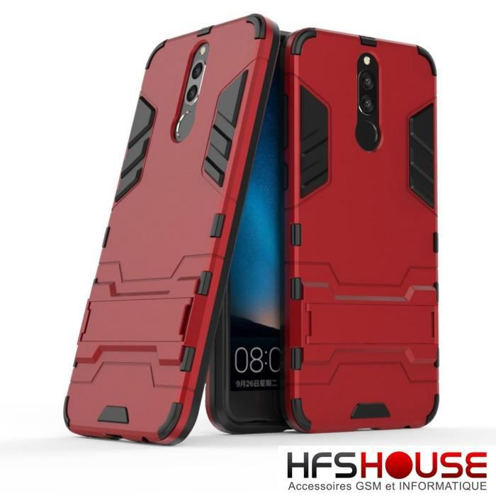 coque rouge huawei mate 10 lite
