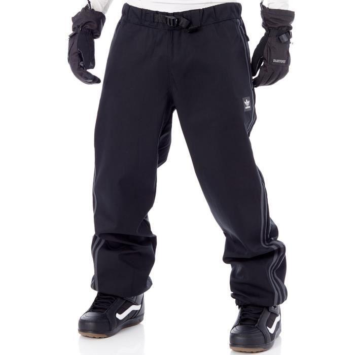 motivo Diploma recomendar  Pantalon Snowboard Adidas Lazyman Noir-Dark Gris Gris-Solid Gris - Prix pas  cher - Cdiscount