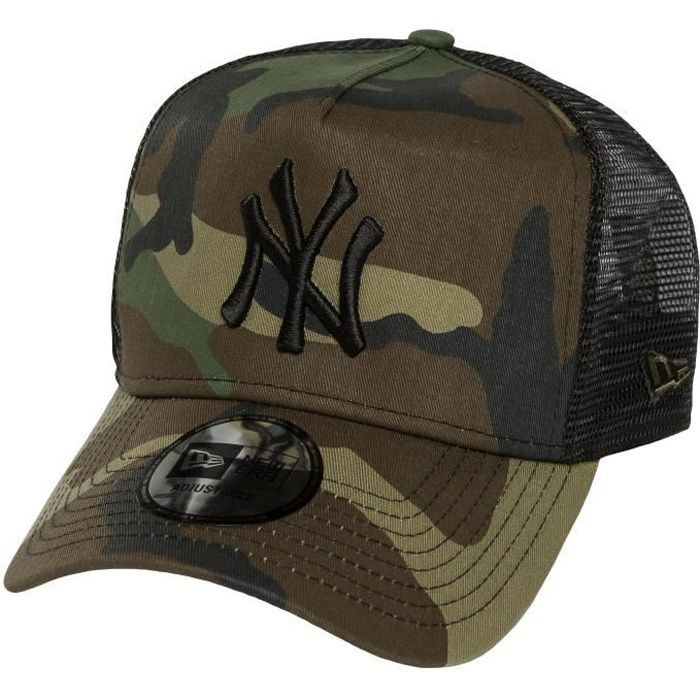 37af51e1cabf ... NY Yankees camouflage Réglable. CASQUETTE New Era Homme Casquettes    Casquette Trucker mesh