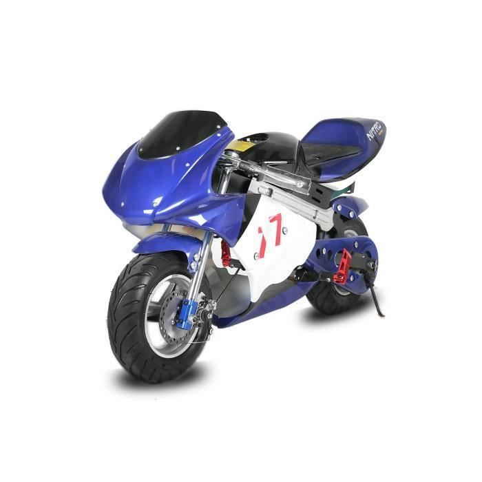 mini moto pocket bike lectrique 800 w achat vente moto mini moto pocket bike le. Black Bedroom Furniture Sets. Home Design Ideas