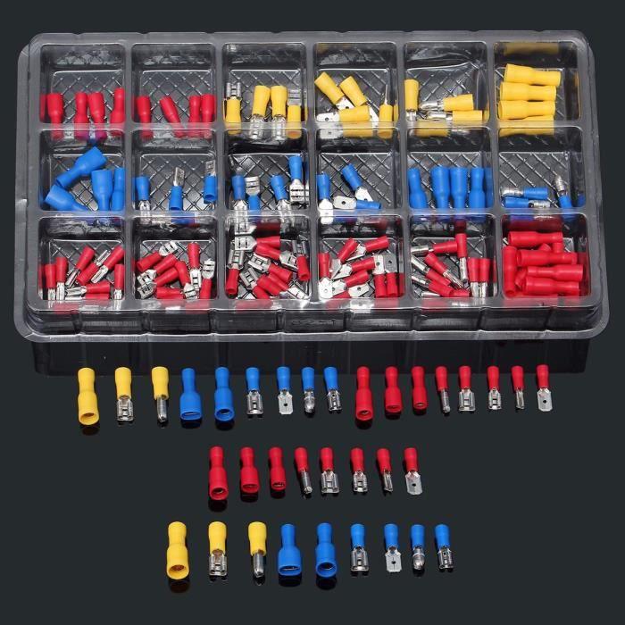 Auto Electrics Lot de 50 cosses /électriques /à sertir
