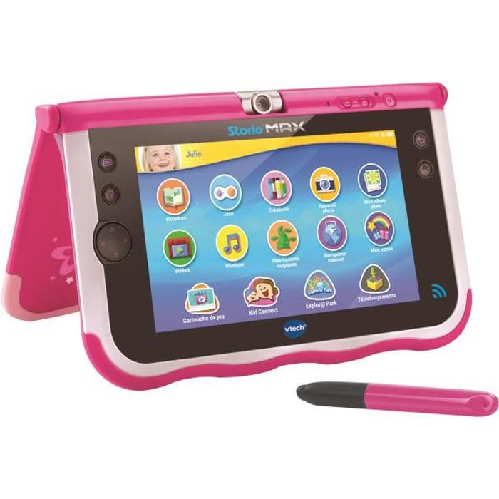 vtech storio max 7 rose tablette enfant achat vente. Black Bedroom Furniture Sets. Home Design Ideas