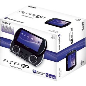 CONSOLE PSP CONSOLE PSP GO ! Noire / console PSP