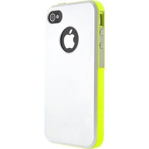 BBC Bumper rigide Iphone 4 / 4S - Jaune
