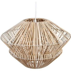 LUSTRE ET SUSPENSION Grande suspension lustre en ROTIN - Diamètre 48 cm