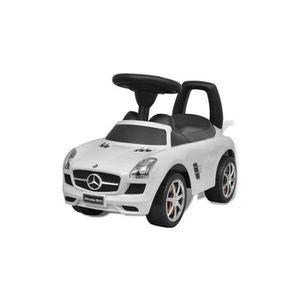 PORTEUR - POUSSEUR Porteur Mercedes 66 cm Blanc