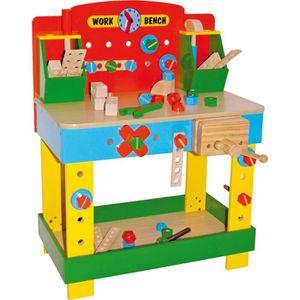 BRICOLAGE - ÉTABLI Etabli jouet pour enfant en bois avec outils 1533