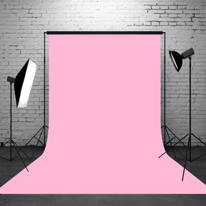 FOND DE STUDIO TEMPSA Toile de Fond Backdrop Tissu 2.1x1.5m Rose