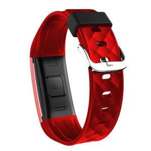 MONTRE Bluetooth 4.0 LED Smart Montre étanche Bracelet Sp
