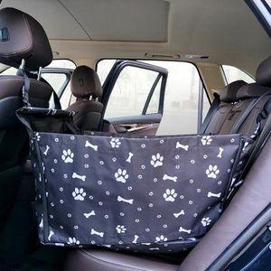 CDwxqBB Transporteur De Si/ège Dappoint pour Voiture pour Animal De Compagnie Pliable pour Chien Chat Chiot Voyage Cage Seat Cover Carrier avec Laisse De S/écurit/é