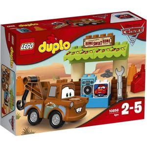 ASSEMBLAGE CONSTRUCTION LEGO® DUPLO® Cars 3 10856 La Cabane de Martin