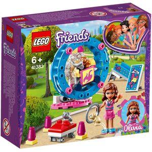 ASSEMBLAGE CONSTRUCTION LEGO® Friends 41383 L'aire de jeu du hamster d'Oli