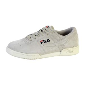 big sale cdee9 e3e69 FILA Homme Chaussures   Baskets Heritage Original Fitness Low blanc 45 9Zn6S