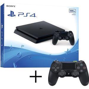 CONSOLE PS4 PS4 Slim 500Go + playstation 4 manette Dualshock 4