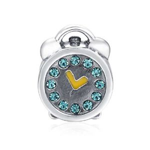 Charm's Soufeel Women's Swarovski Crystal Alarm Clock Char