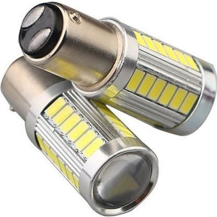 2 Ampoule Led P21/5W - Anti Erreur - Feux de jour - Diurne