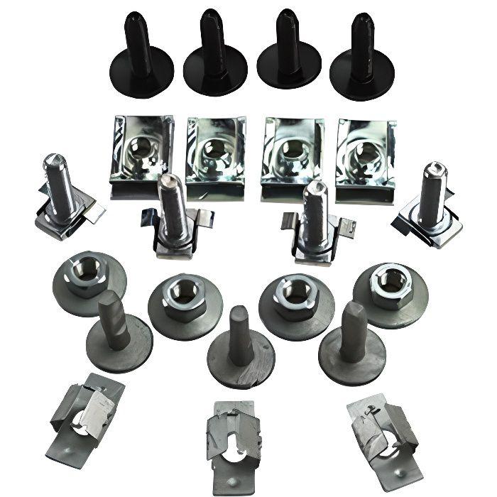 Kit de fixation Clips pour cache moteur Citroen C4 2004.10-2010.12 Citroen C4 Picasso 2006.10- Peugeot 308 2007.9