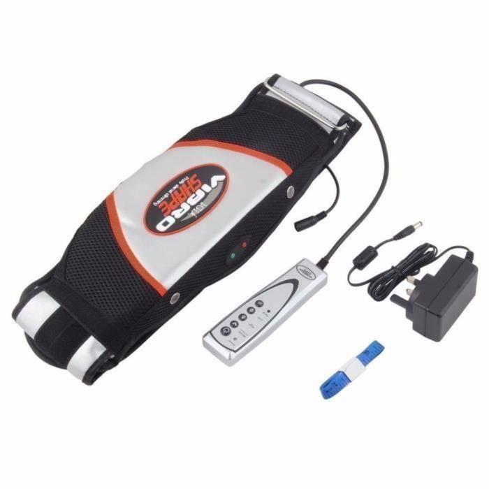 Chaleur Fonction Vibro Forme Minceur Massage Ceinture Électrique Minceur ceinture massagerarm ceinture Machine Électrique mince
