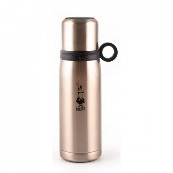 BIALETTI Bouteille isotherme avec gobelet 46 cL Rose Gold RSG015