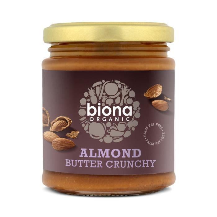 Organic Almond Butter Crunchy 170 g
