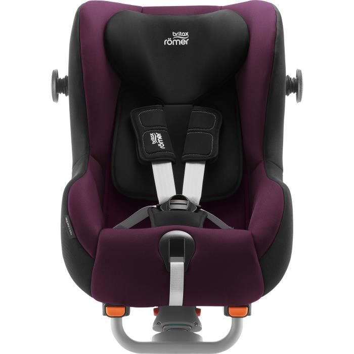 BRITAX RÖMER Siège auto dos route MAX-WAY PLUS Groupe 1/2 - Burgundy Red