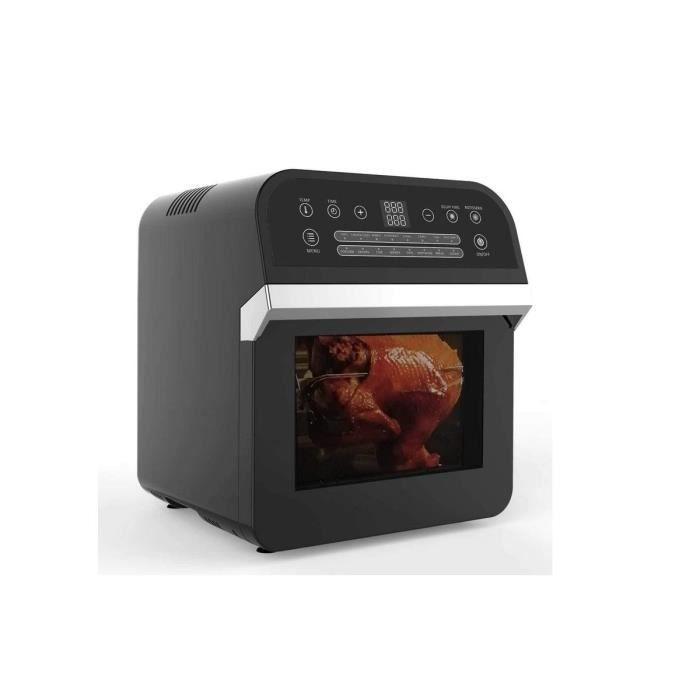 Four Friteuse à air Chaud 1600W DELUXE Ecran numérique LCD Capacité 12 Litres
