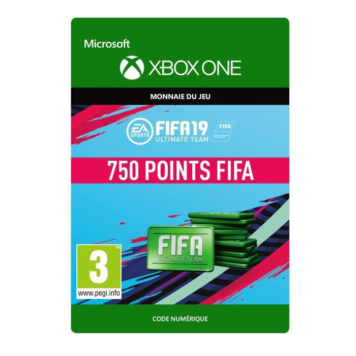 DLC FIFA 19 Ultimate Team : 750 pts pour Xbox One