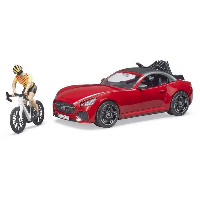 BRUDER - Voiture roadster avec figurine