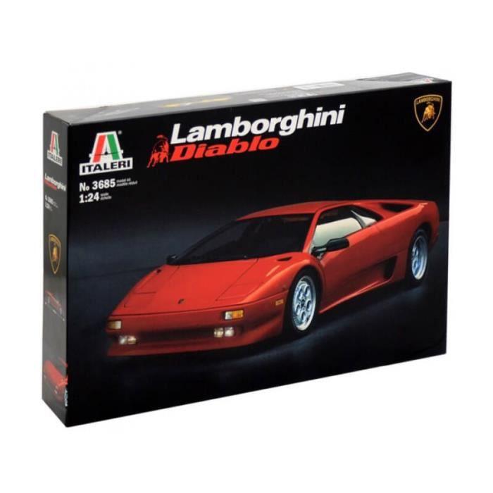 Maquette de voiture : Lamborghini Diablo aille Unique Coloris Unique