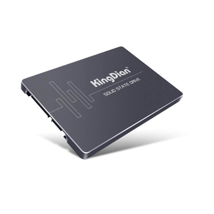 KingDian - Disque SSD interne MLC SSD de 7,35 cm (2,5 -) 7 mm SATA III 6 Go / s pour PC de bureau PC-S400 120 Go